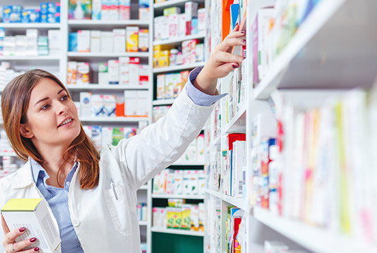 Transaction de pharmacie